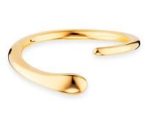 Ring 5/- Sterling Silber vergoldet geschwungen