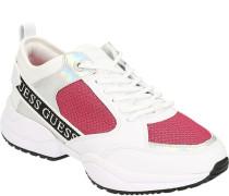 Sneaker, Netzeinsätze, für Damen, /pink