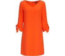 Kleid, 3/4 Arm, V-Ausschnitt,