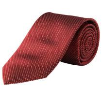 Krawatte reine Seide Allover-Musterung