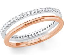 Ring Set 5er Silber