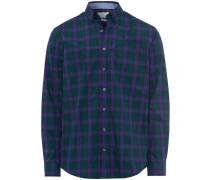 Freizeithemd, 1/1 Arm, Button Down, Comfort Fit, smaragd, XL
