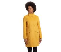 Mantel, Woll-Anteil, unifarben, Stehkragen
