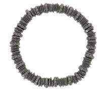 Armband 925 Sterling Silber, PVD Ruthenium WPLXB226
