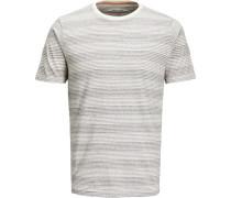 T-Shirt Rundhals gestreift XL