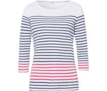 """Shirt """"COLLETTA"""", Streifenlook, Seitenschlitze am Saum,"""