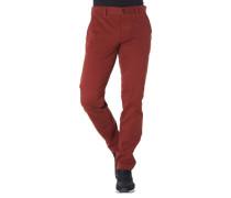 Stoffhose Slim Fit Baumwoll-Stretch