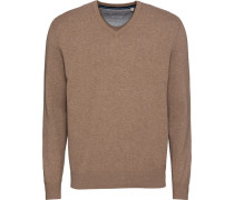 Pullover mit V-Ausschnitt L