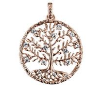 Anhänger Crystal Tree Rotvergoldet 15 Zirkonia M JJ8810.2