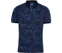Poloshirt, Kurzarm, Allover-Print,