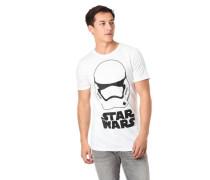 T-Shirt Front-Print Star Wars reine Baumwolle