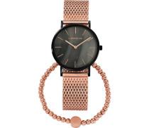 """Geschenk-Set Uhr und Armband """"LS-0088-MQB"""""""