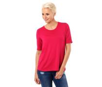 T-Shirt gekreuzte Rücken-Bänder Halbarm Rundhalsausschnitt