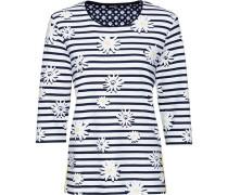 Sweatshirt, 3/4-Arm, sportive Streifenapplikation,