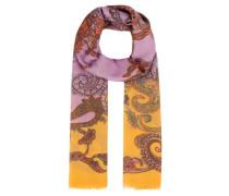 Schal Paisley-Print mehrfarbig
