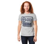 T-Shirt Front-Print Baumwoll-Mix