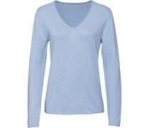Pullover mit V-Ausschnitt, hell, 40