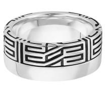Ring 925/- Sterling Silber rhodiniert Ornament, 62