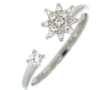 Ring Polar-Stern mit Zirkonia 12535