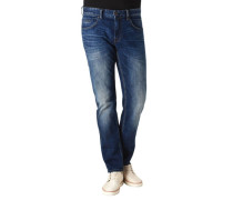 "Jeans ""NIGHTFLIGHT"" Slim Fit Waschungen 3D-Markenprägung"
