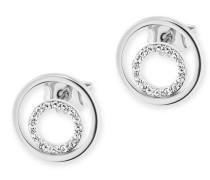 Ohrstecker 925/-Sterling Silber rhodiniert Topas