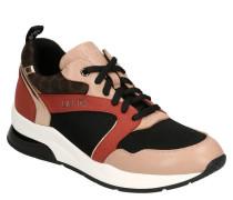 """Sneaker """"KARLIE""""etallic-Details, Animal-Printesh-Einsätze"""