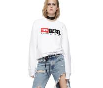 """Diese Sweatshirt """"CREW DIVISION"""" Oversized ogo Print"""