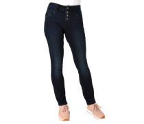 "Jeans ""Catie"" Slim Fit Waschung Knopfleiste"