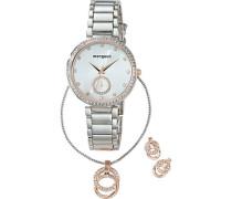 Geschenk-Set: Uhr Kette und Ohrstecker