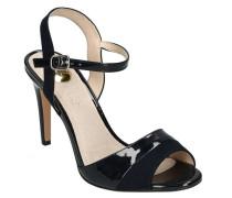 """Sandaletten """"Aida"""" Velours-Details LOack-Optik"""