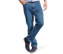 Jeans-Hose Baumwolle Stretch-Anteil gerader Schnitt