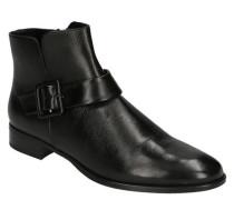 """Boots """"Sena"""" Glattleder Riemen-Detail leichter Blockabsatz"""