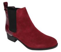 Chelsea Boots, Velourslederack-Details