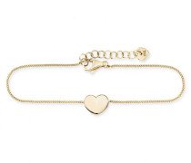 Armband 5/- Sterling Silber vergoldet Herz