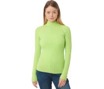 Pullover, gestreift, Ripp-Struktur, für Damen, neon