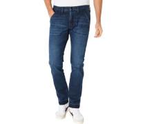 """Jeans, """"Luke"""", Slim-Tapered, 5 Pocket, Umschlag,"""