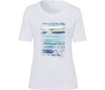 """T-Shirt CIRA"""", Front-Print, Paillettenbesatz,"""