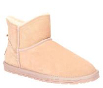Boots Veloursleder Warmfutter Logo-Patch