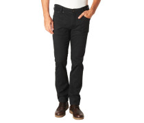Stoffhose, Regular Fit, Struktur-Muster,