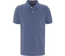 Poloshirt, Kurzarm, Piqué, uni,