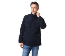 Jacke Pattentaschen wasserabweisend Taillenzug