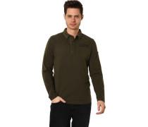 Pullover, Knopfleisteogo-Patch, für Herren