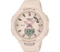 """Hybrid-Smartwatch Baby-G """"BSA-B100-4A1ER"""""""