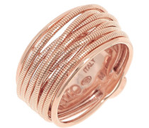 Ring 925 Sterling Silber, PVD Roségold, WDNAA102M