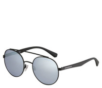 """Sonnenbrille """"EA  011U"""" rund verspiegelt Filterkategorie 2N"""