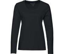 Basic-Langarmshirt