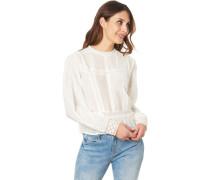 Shirt, Bauschärmel, Rundhalsausschnitt, für Damen