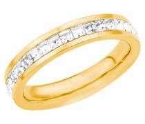Ringe 18557 mit Swarovski Kristallen Edelstahl
