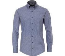 Freizeithemd 1/1 Arm, Button-Down, Comfort Fit, XL