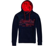 Sweatshirt mit Kapuze navy